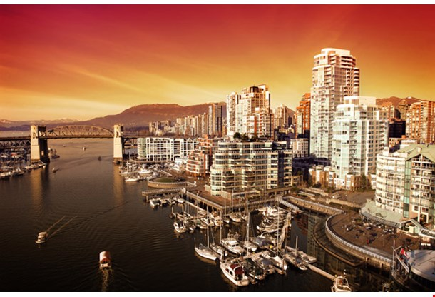 Scenic Vancouver Harbour