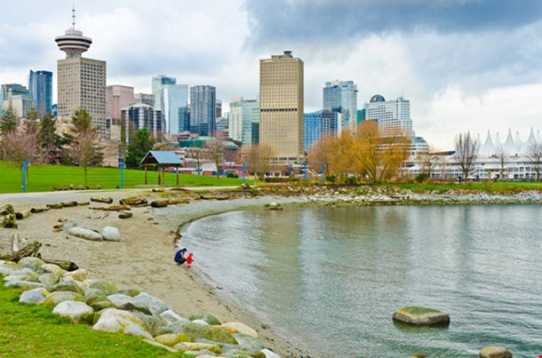 Vancouver Canada from Portside Park