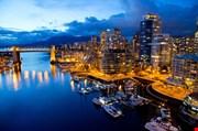 vancouver-night-view-Vancouver Night View
