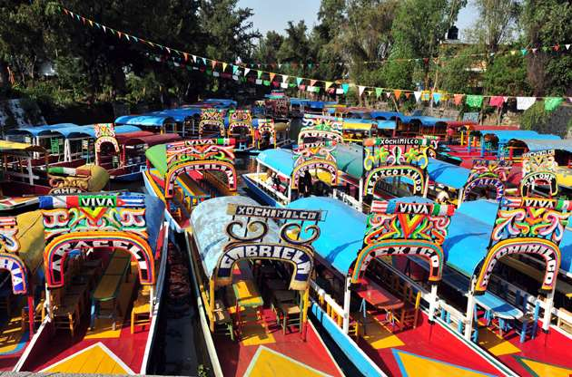 colourful-mexican-gondolas-Colourful Mexican Gondolas