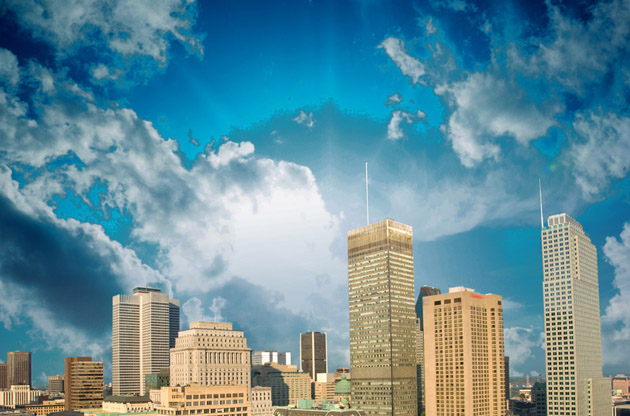 montreal-skyline-2-Montreal Skyline 2