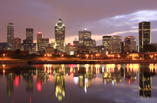 montreal-skyline-Montreal Skyline