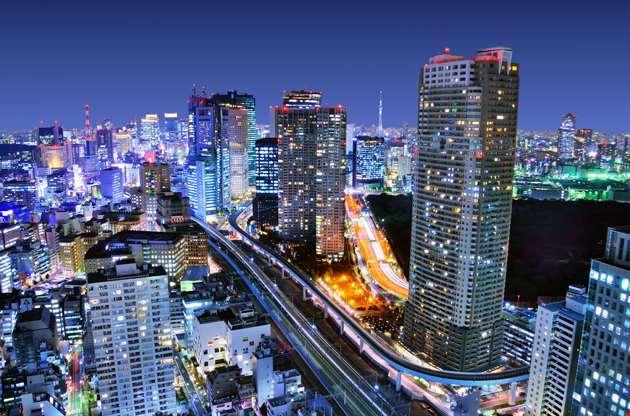 dense-buildings-in-minato-ku-tokyo-Dense Buildings In Minato Ku Tokyo