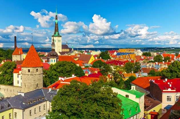 aerial-panorama-of-tallinn-Aerial Panorama of Tallinn