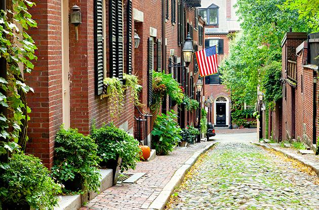 cobblestone-street-in-boston-Cobblestone Street In Boston