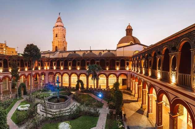 lima-peru-santo-domingo-monastery-Lima Peru Santo Domingo Monastery