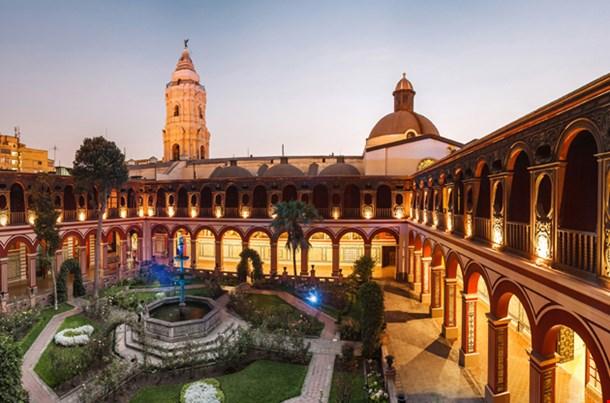 Lima Peru Santo Domingo Monastery