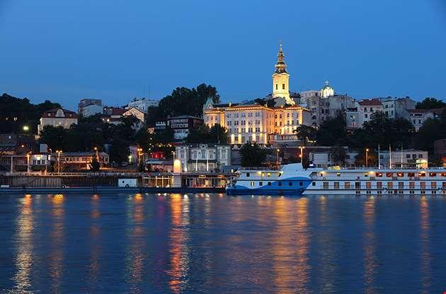 belgrade-serbia-cityscape-Belgrade Serbia Cityscape
