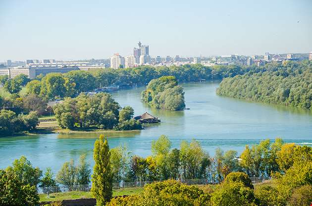 danube-river-belgrade-serbia-Danube River Belgrade Serbia