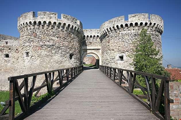 kalemegdan-fortress-in-belgrade-serbia-Kalemegdan Fortress In Belgrade Serbia