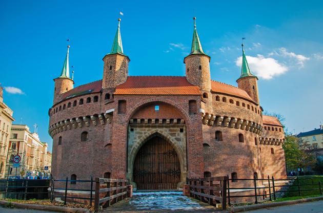 barbican-in-krakow-poland-Barbican In Krakow Poland