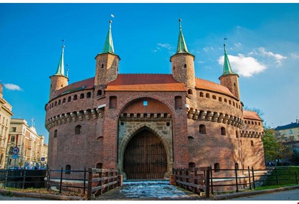 Barbican In Krakow Poland