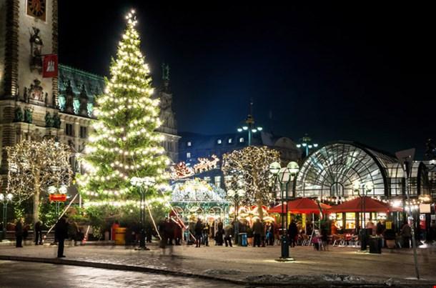 Hamburg at Christmas Week