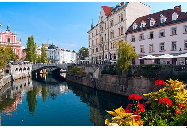 Ljubljana Slovenia River