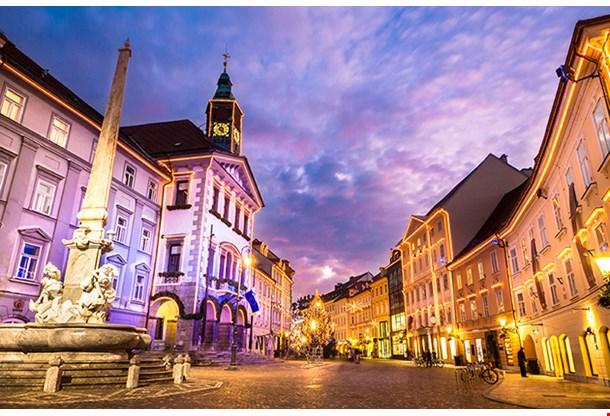Romantic Medieval Ljubljana City Center