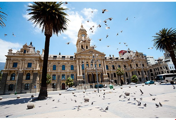 City Hall Of Cape Town South Africa