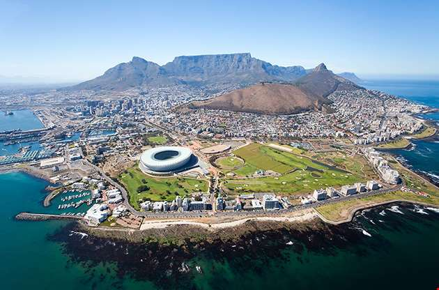 overall-aerial-view-of-cape-town-Overall Aerial View Of Cape Town