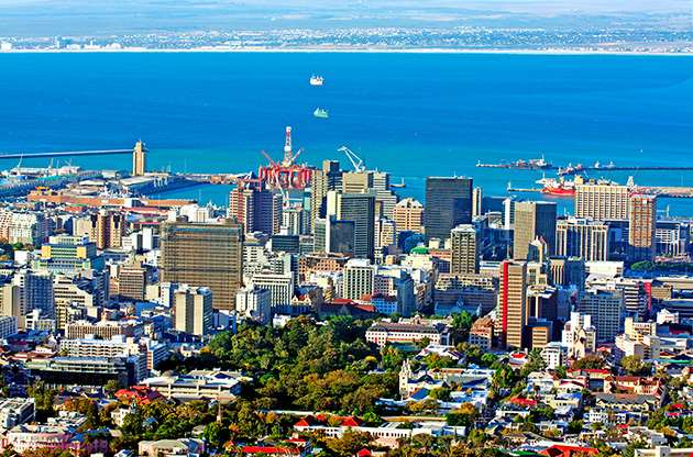 view-over-cape-town-south-africa-View Over Cape Town South Africa