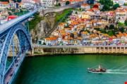 ancient-city-porto-metallic-dom-luis-bridge-Ancient City Porto Metallic Dom Luis Bridge