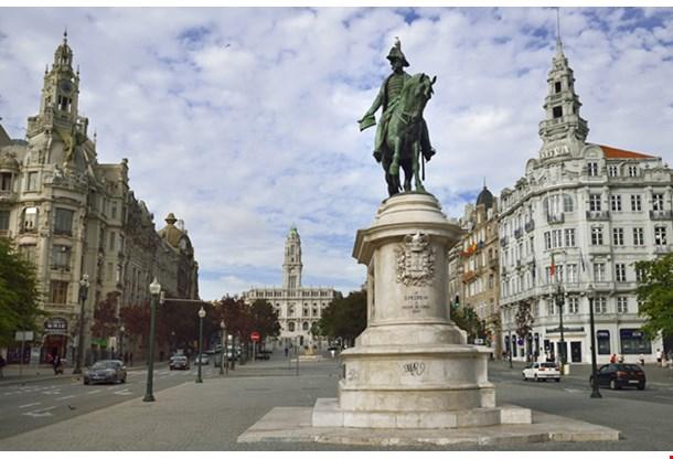 Portugal Porto The Main Square