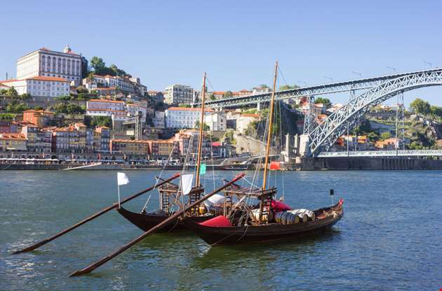 rabelo-boats-in-porto-Rabelo Boats In Porto
