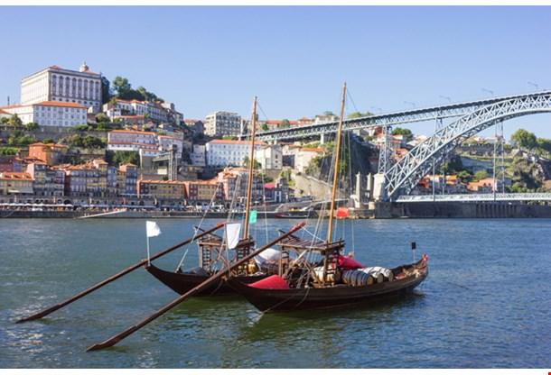 Rabelo Boats In Porto