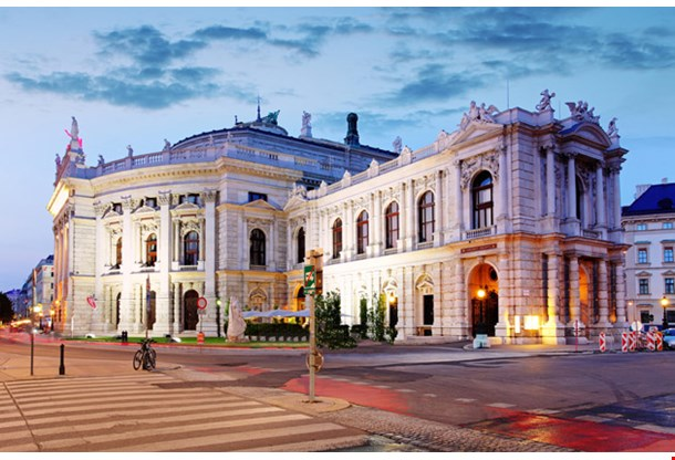 The State Theater Burgtheater