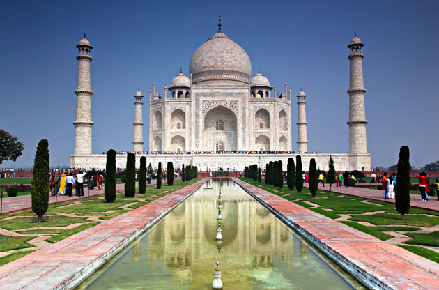 the-taj-mahal-agra-The Taj Mahal Agra
