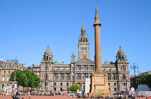 george-square-glasgow-George Square Glasgow