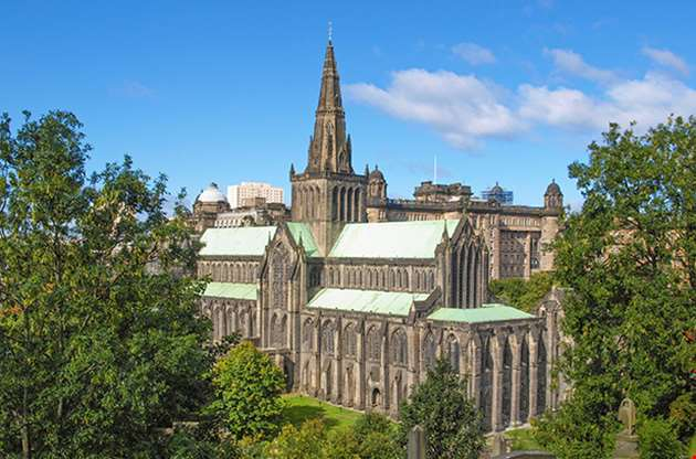 glasgow-cathedral-aka-high-kirk-of-glasgow-or-st-kentigern-or-st-mungo-Glasgow Cathedral Aka High Kirk Of Glasgow Or St Kentigern Or St Mungo