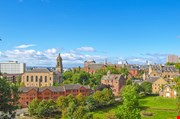 view-of-the-city-of-glasgow-in-scotland-View Of The City Of Glasgow In Scotland