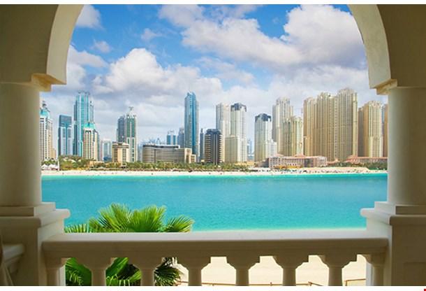 Dubai City View From Villa