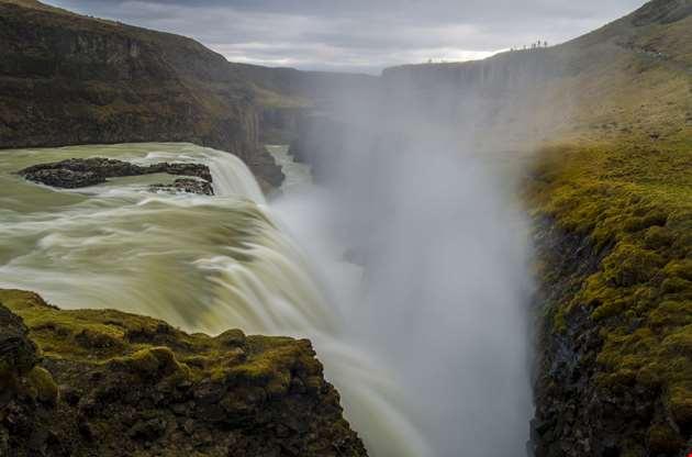 gullfoss-waterfall-iceland-Gullfoss Waterfall Iceland