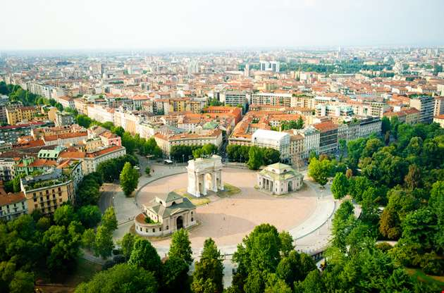 beautiful-panoramic-view-milan-Beautiful Panoramic View Milan