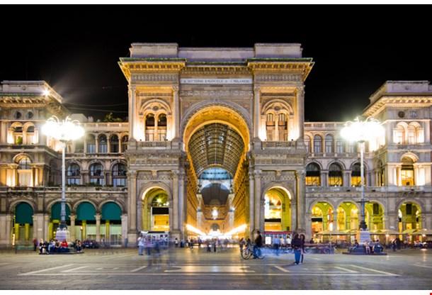 Vittorio Emanuele Ii Gallery Milan
