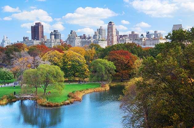 new-york-city-manhattan-central-park-panorama-New York City Manhattan Central Park Panorama
