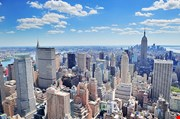 new-york-city-manhattan-midtown-aerial-panorama-New York City Manhattan Midtown Aerial Panorama