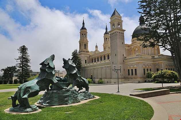 saint-ignatius-church-on-the-university-of-san-francisco-Saint Ignatius Church On The University Of San Francisco