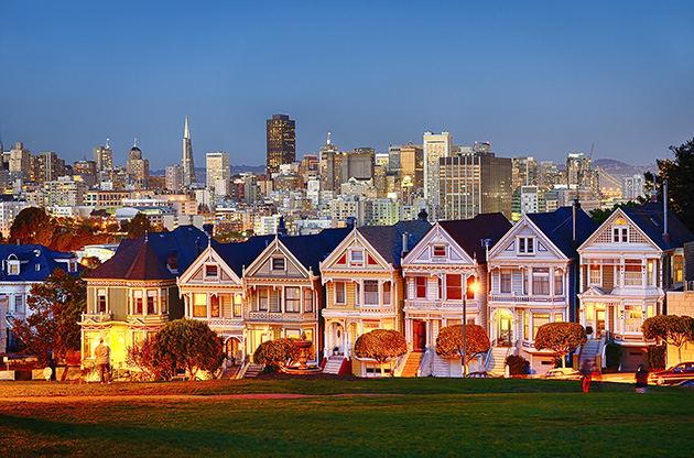 the-painted-ladies-of-san-francisco-The Painted Ladies Of San Francisco