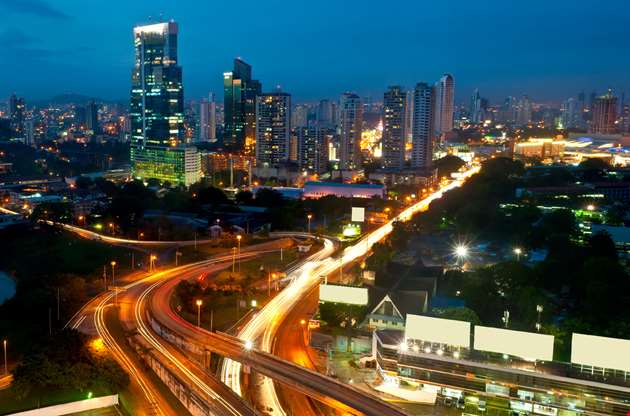 panama-city-by-night-Panama City By Night
