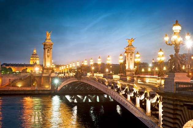 alexandre iii bridge-Alexandre III Bridge