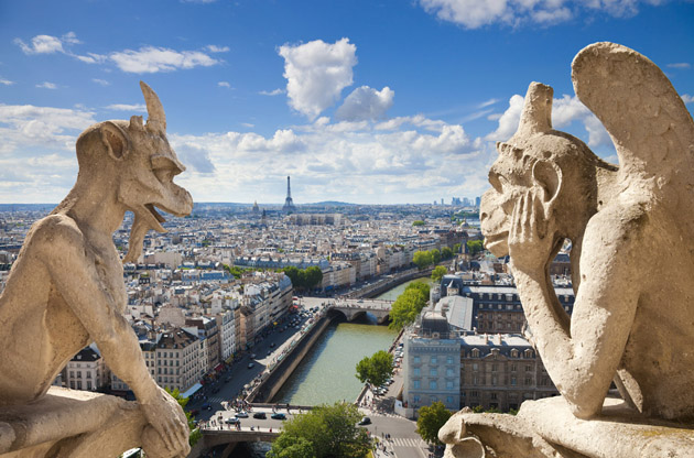 notre-dame-of-paris-styge-and-demon-Notre Dame of Paris Styge and Demon