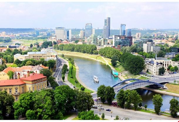 Vilnius City Panorama, Lithuania