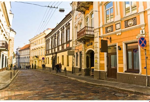 Vilnius Oldtown Street, Lithuania