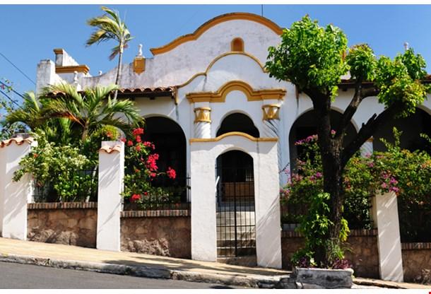 19 Th Century European Building Of Downtown Asuncion