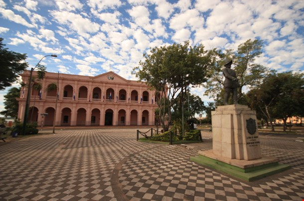 Building Of Museum Cabildo, Asuncion