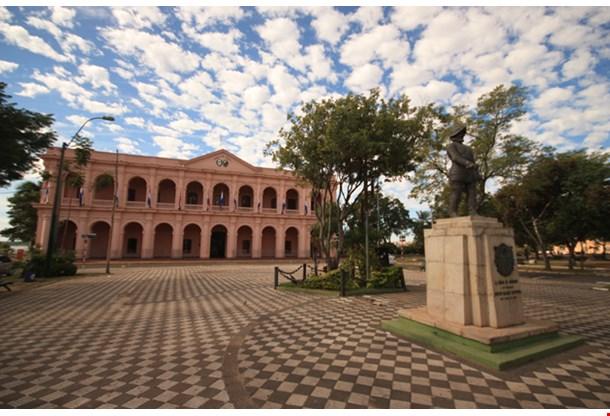 Building Of Museum Cabildo, Asuncion
