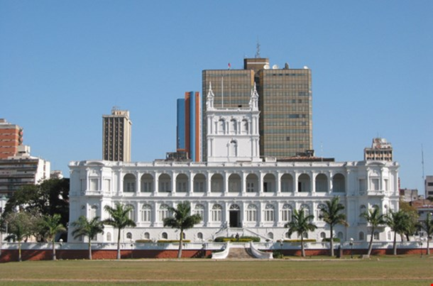 Lopez Presidential Palace In Asuncion