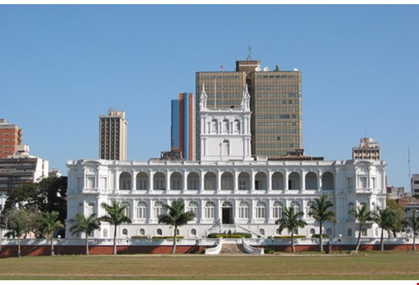 Lopez Presidential Palace In Asuncion