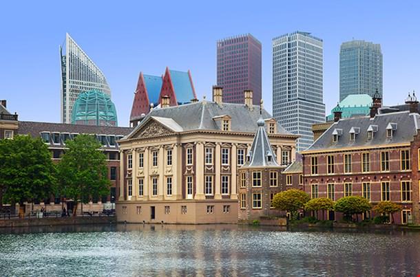 Binnenhof Palace Dutch Parliament In The Hague Den Haag
